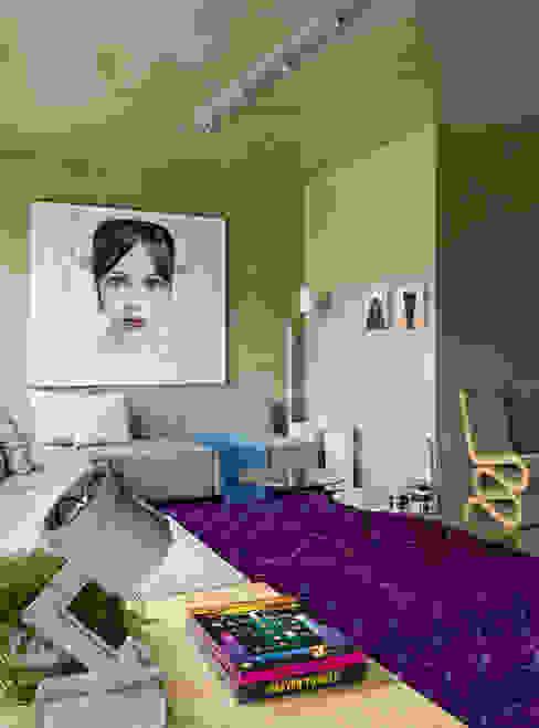Livings de estilo  por DIEGO REVOLLO ARQUITETURA S/S LTDA. , Moderno