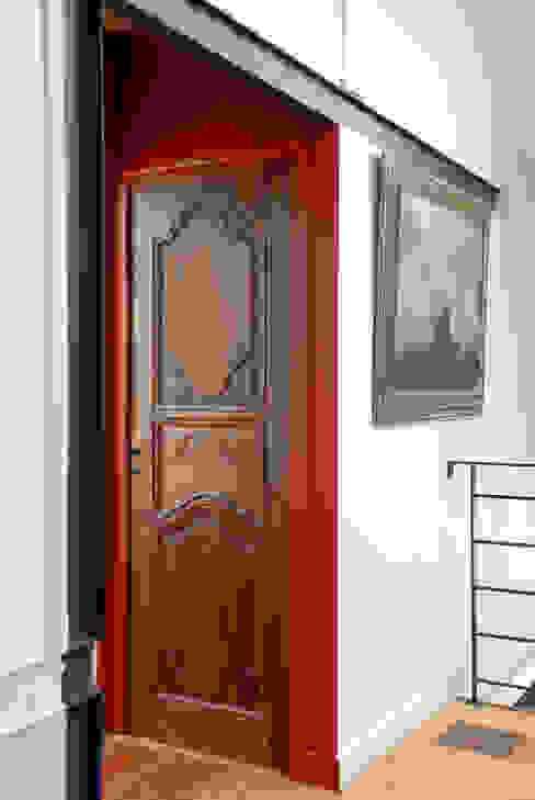 ÎLE DE LA JATTE Fenêtres & Portes modernes par ZOEVOX - Fabrice Ausset Moderne