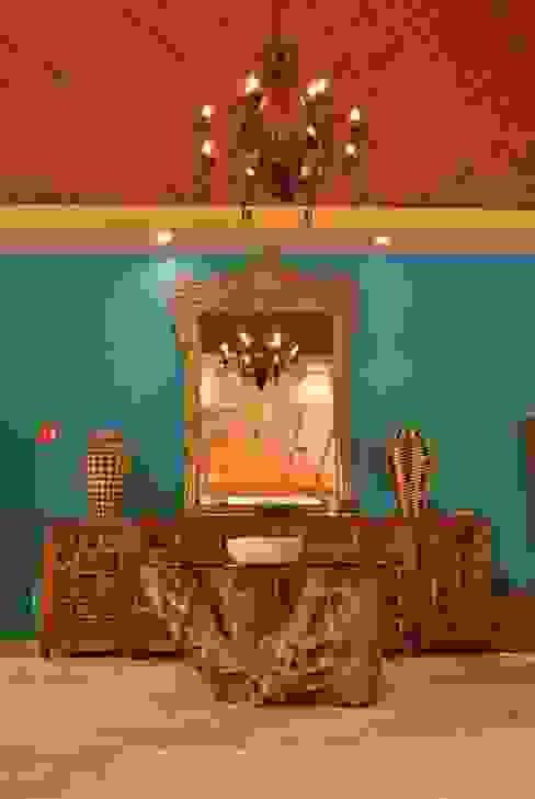 Lobby. Hoteles de estilo ecléctico de Dovela Interiorismo Ecléctico