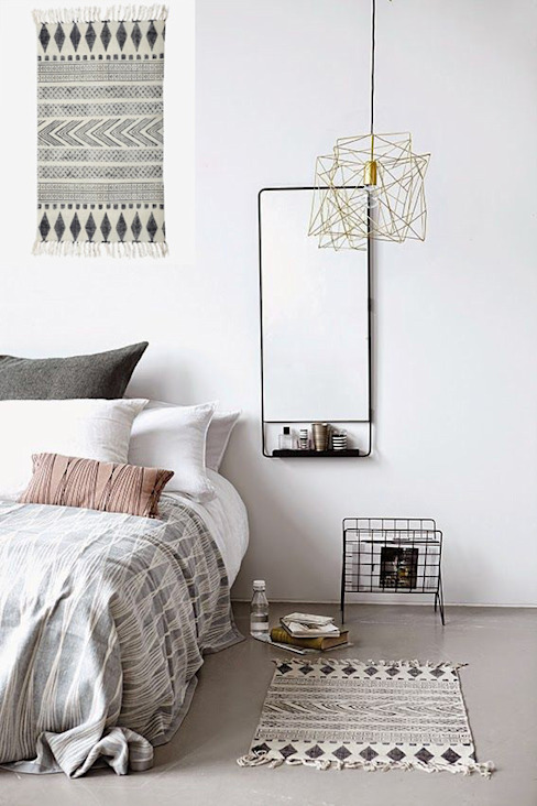 Scandinavian style bedroom by Muebles Capsir Scandinavian