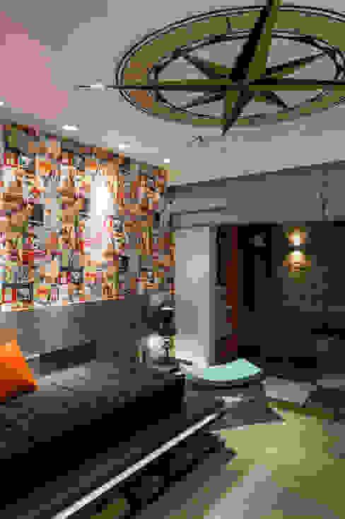 Suíte Rapaz - Casa Cor 2014 Pernambuco Quartos modernos por Celia Beatriz Arquitetura Moderno