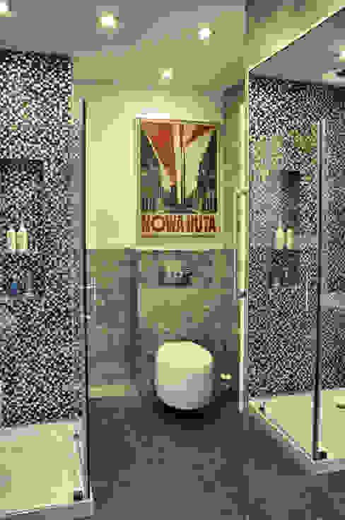 Ванные комнаты в . Автор – Pracownia Kaffka,