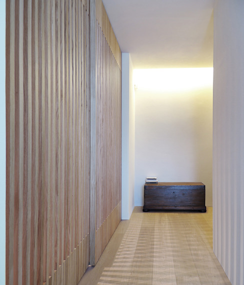 © Diego Collini Federica Stagni Ingresso, Corridoio & Scale in stile minimalista di diegocolliniarchitetto Minimalista