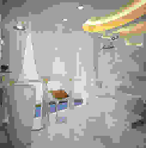 ФЕН-ШУЙ Ванная комната в стиле минимализм от Biriukova Ievgeniia Минимализм