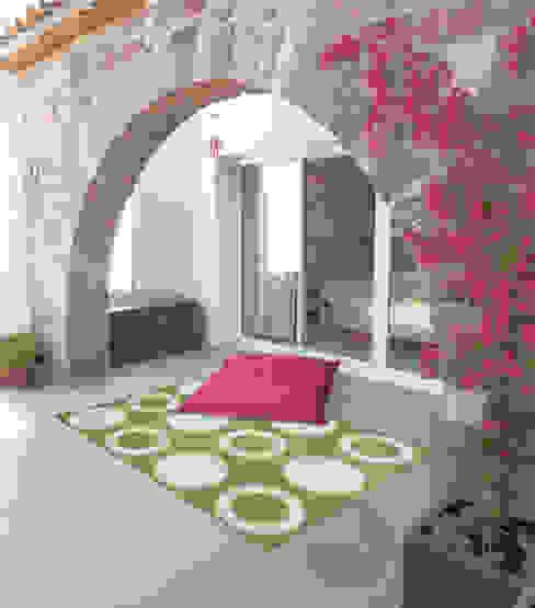 Projekty,  Balkon, weranda i taras zaprojektowane przez ITAO