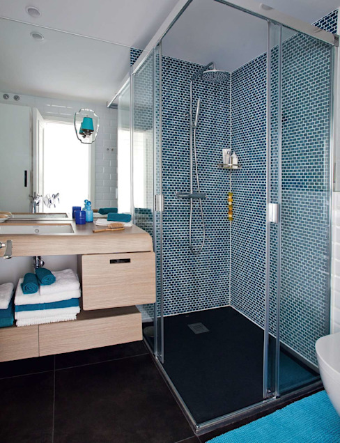 Bathroom by Bescos-Nicoletti Arquitectos,