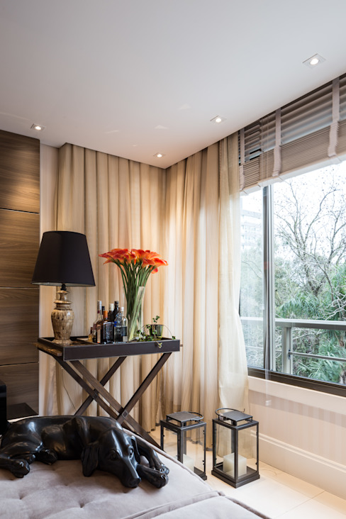 Moderne woonkamers van Mundstock Arquitetura Modern