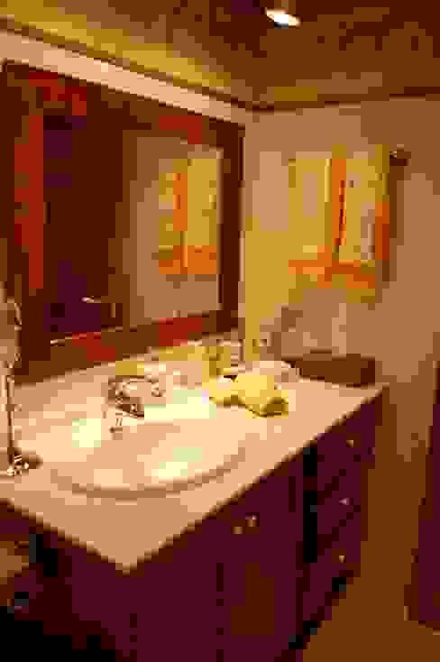 Banheiros rústicos por Gramil Interiorismo II - Decoradores y diseñadores de interiores Rústico