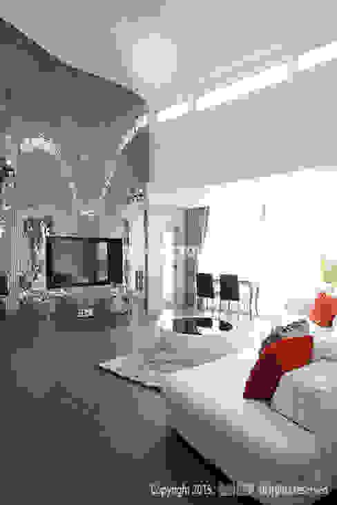 Modern living room by MID 먹줄 Modern