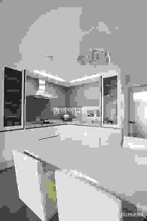 Modern kitchen by MID 먹줄 Modern