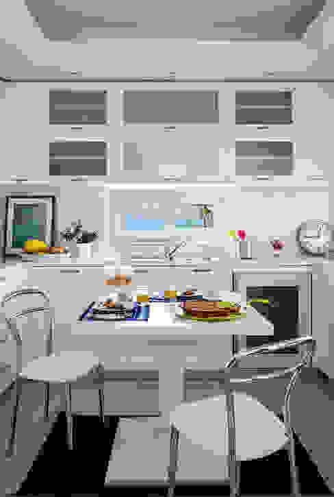 Cucina di PDV studio di progettazione Mediterraneo
