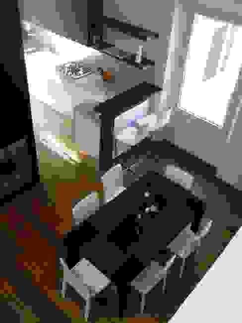 Ristrutturazione residenziale in un edificio storico - Firenze Cucina moderna di de vita e fici architetti associati Moderno