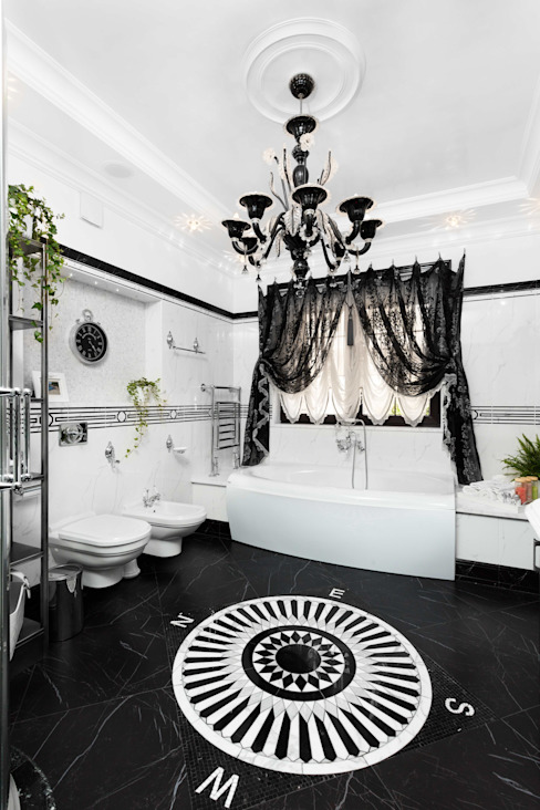 Classic style bathroom by AGRAFFE design Classic