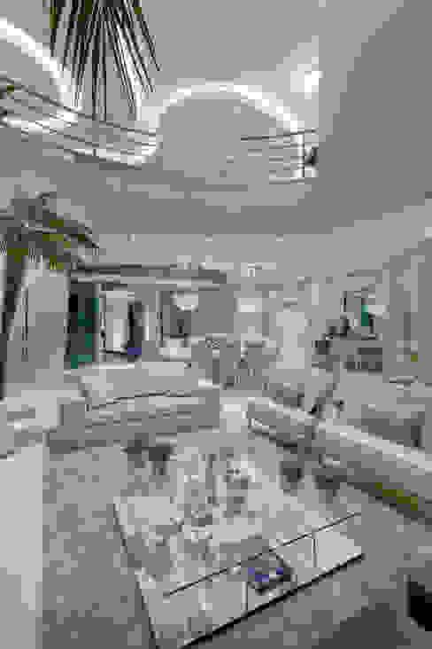 Modern Oturma Odası Arquiteto Aquiles Nícolas Kílaris Modern