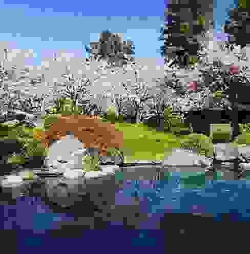 アジア風 庭 の Ecologic City Garden - Paul Marie Creation 和風
