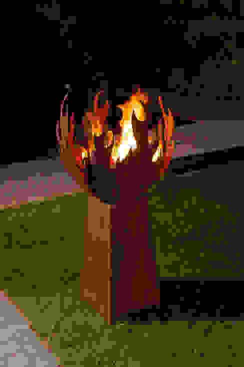 außergewöhnliche Feuerstellen - Flamme von Atelier51 Ausgefallen