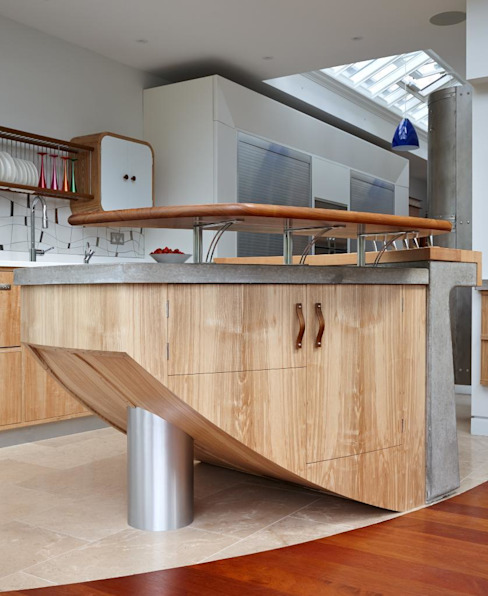 Richmond - A Kitchen in Three Movements Cocinas de estilo moderno de Johnny Grey Moderno