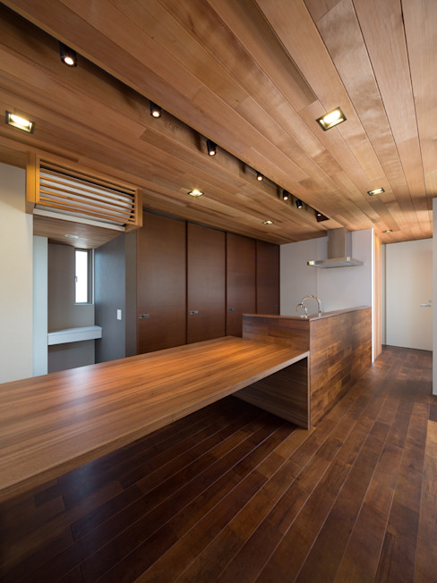 Casas modernas por Architect Show Co.,Ltd Moderno