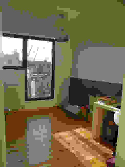 Chambre neuve au deuxième étage par AB+ARCHI Moderne