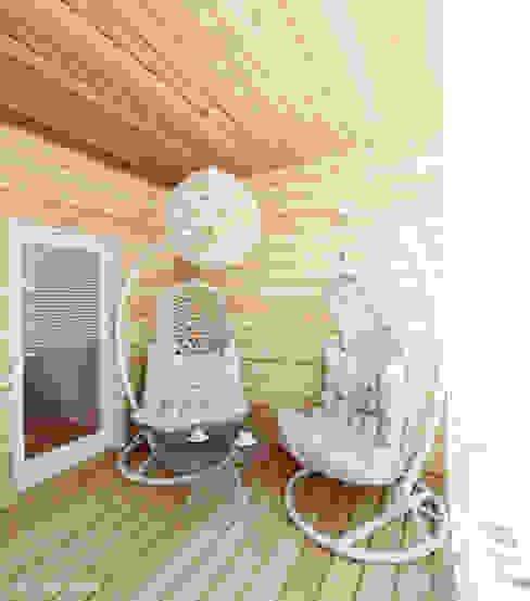 Projekt tarasu: styl , w kategorii Ogród zimowy zaprojektowany przez Ale design Grzegorz Grzywacz,Nowoczesny