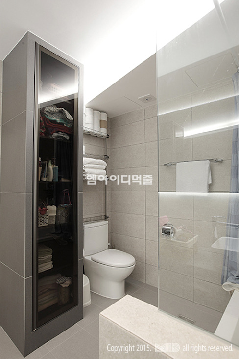 MID 먹줄 Modern style bathrooms
