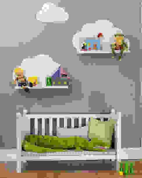 Wolkenreich - Stickerset für IKEA RIBBA Bilderleisten von Limmaland GbR Skandinavisch