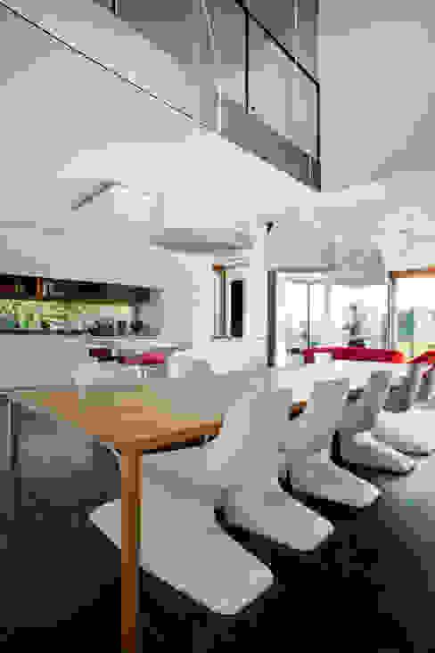 Moderne eetkamers van STEINMETZDEMEYER architectes urbanistes Modern