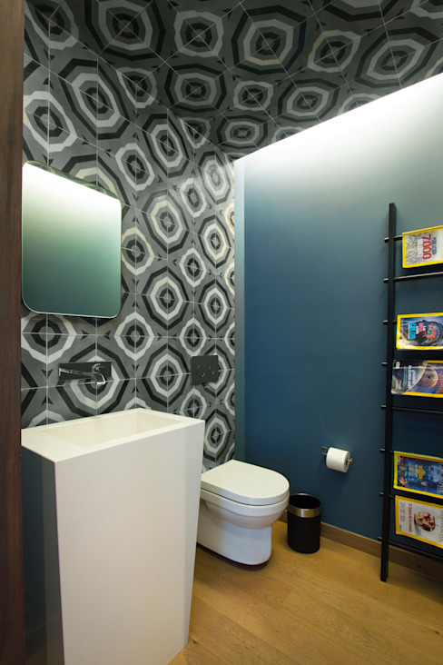Bathroom by Concepto Taller de Arquitectura,