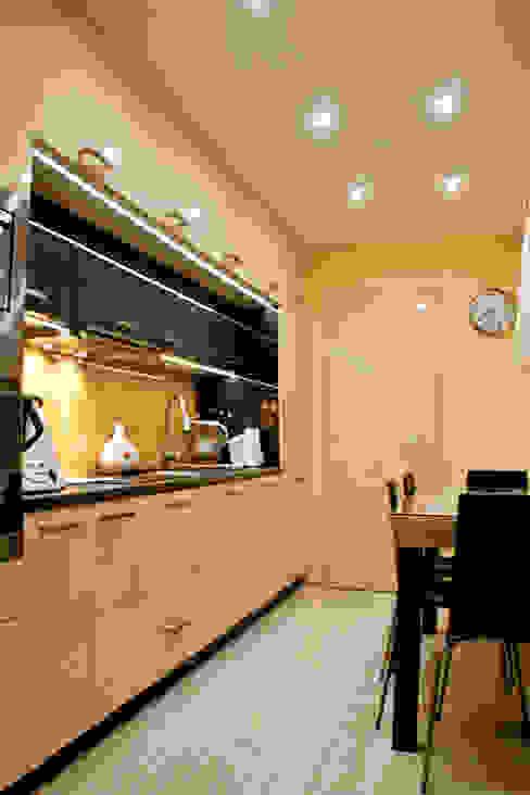mała kuchnia dla dużej rodziny: styl , w kategorii Kuchnia zaprojektowany przez Patyna Projekt,Nowoczesny