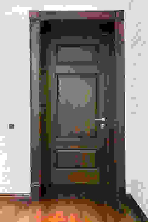 Двери дубовые межкомнатные с карнизом :  в . Автор – Lesomodul, Кантри