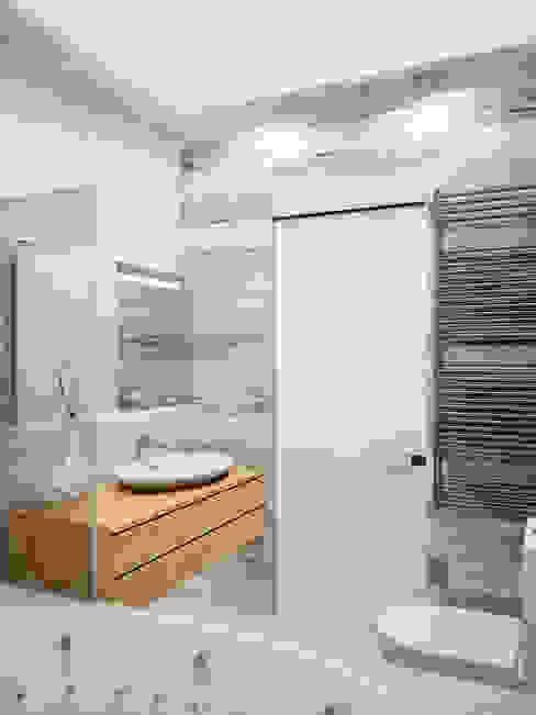 Ванная Ракушка Ванная комната в стиле минимализм от homify Минимализм