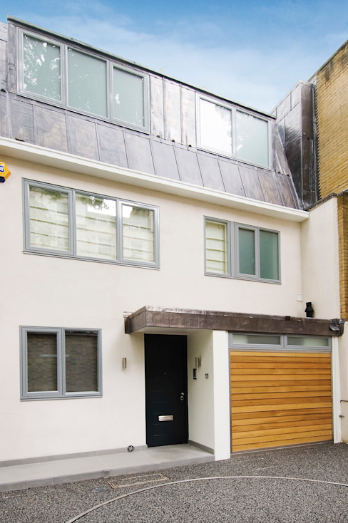 Renovation of a Mews House central London Modern houses by Saunders Interiors Ltd Modern