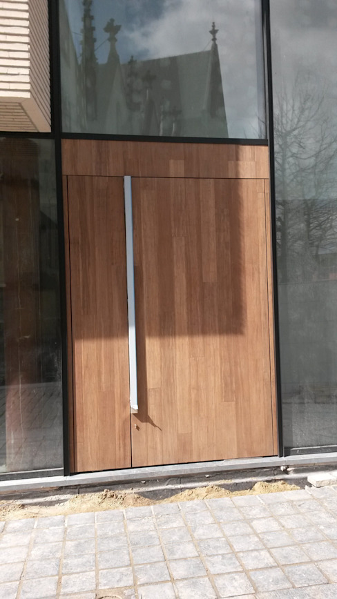 Bamboe Moderne ramen & deuren van Punto Verde Bamboe toepassingen Modern