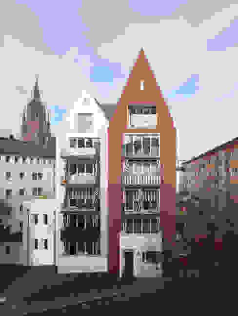 Wohnen am Dom Christoph Mäckler Architekten Moderne Häuser