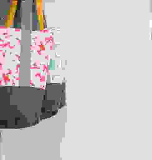 Tote Bags: modern  by Anna Bird Textiles, Modern