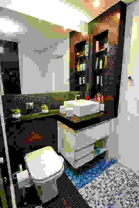 Apartamento Bom Retiro - 100m² Raphael Civille Arquitetura Banheiros minimalistas