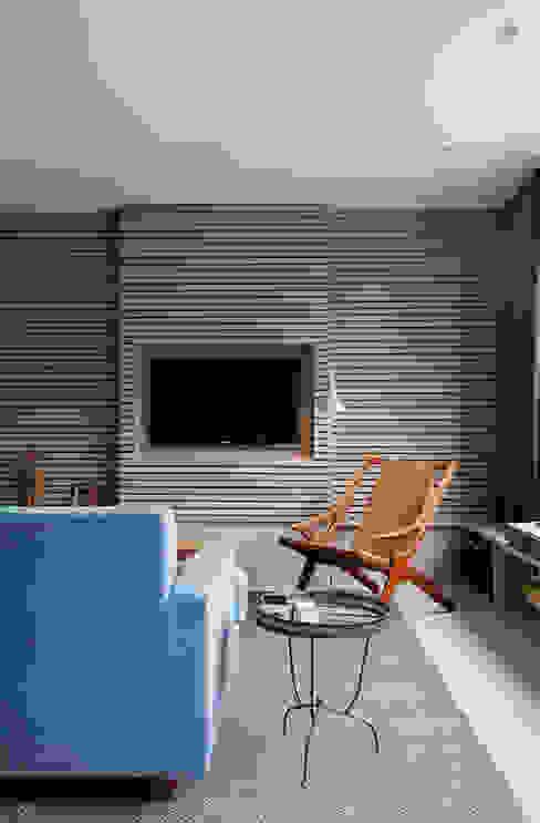 Living Room Salas de estar modernas por homify Moderno