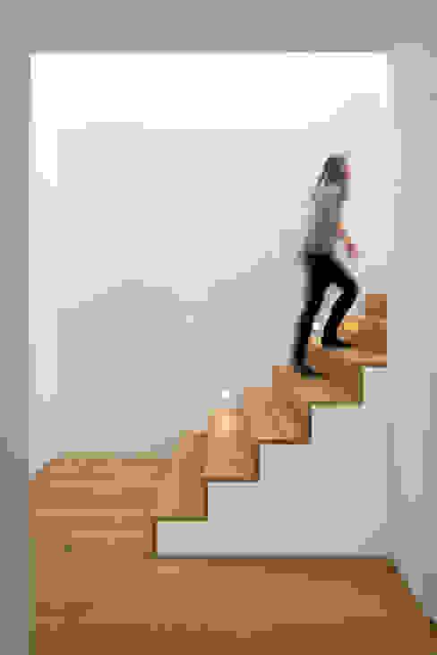 Modern corridor, hallway & stairs by Schiller Architektur BDA Modern