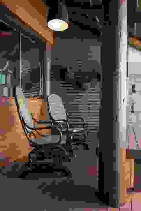PAM | Quiosque Zona Sul Varandas, marquises e terraços modernos por Kali Arquitetura Moderno