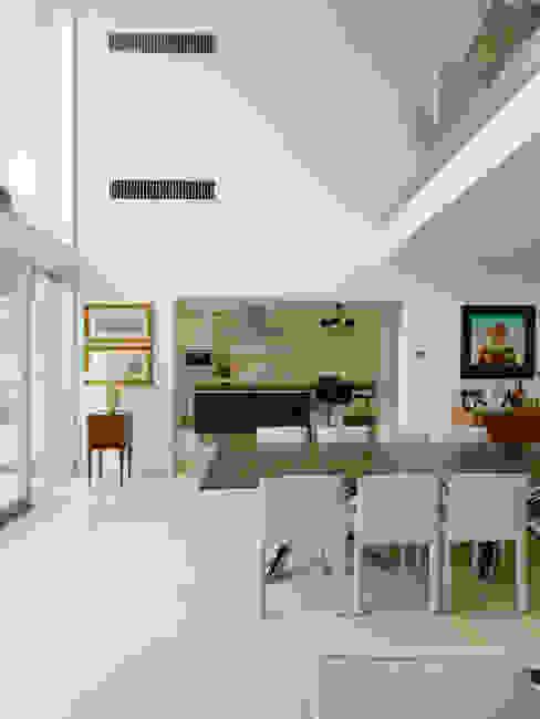 Projekty,  Jadalnia zaprojektowane przez Moser Architects, Nowoczesny