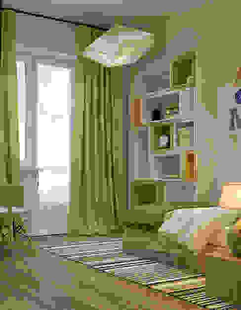 Colors_project Детская комнатa в стиле минимализм от Projecto2 Минимализм