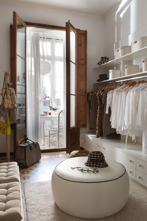Dressing room by Deu i Deu, Eclectic
