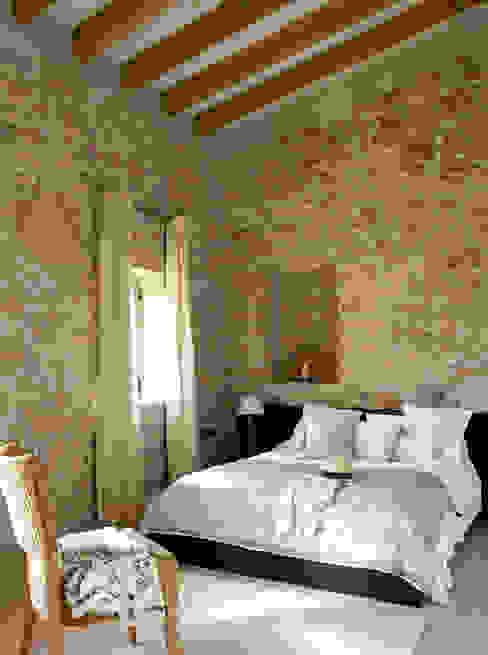 Casa Porto Saler. Formentera. 2000 Dormitorios de estilo rústico de Deu i Deu Rústico