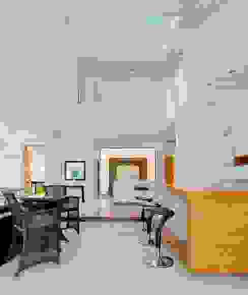 Projekty,  Salon zaprojektowane przez Excelencia en Diseño, Nowoczesny