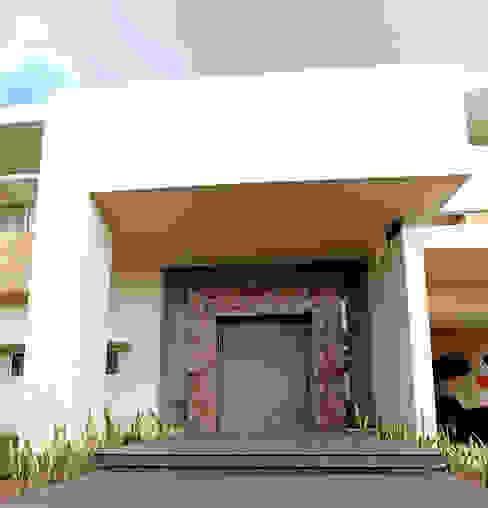 Front doors by AMEC ARQUITECTURA , Minimalist