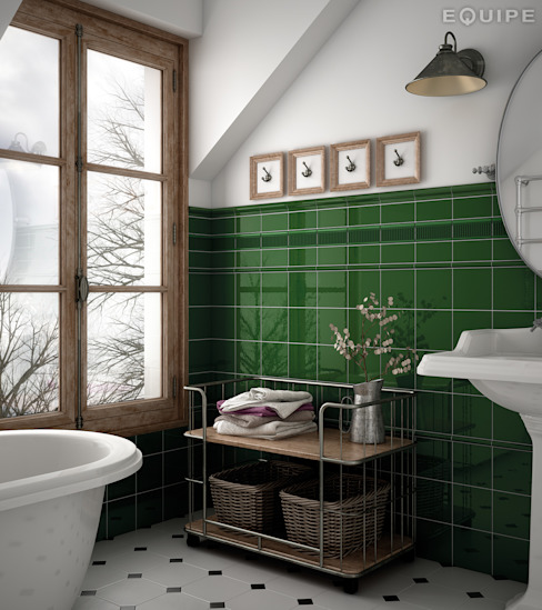 homify Classic style bathroom Ceramic