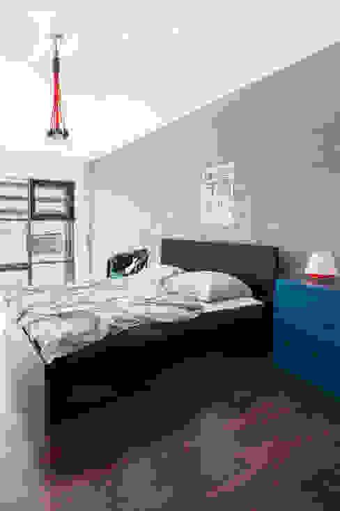Endüstriyel Yatak Odası Decoroom Endüstriyel