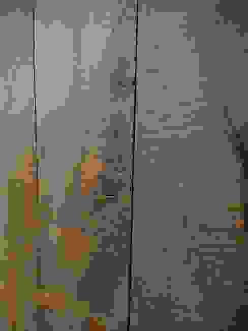 Pavimento in legno vecchio, finitura segato a mano di Moreno Donati Rustico