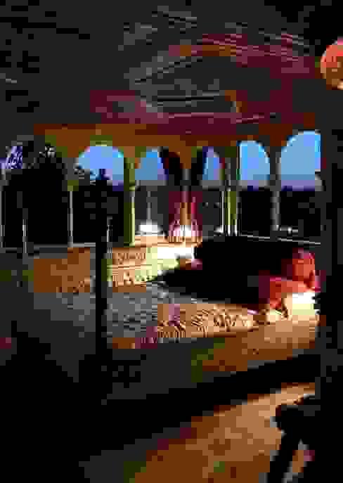 Entre dos Mundos El Palacio Damasceno Dormitorios de estilo asiático