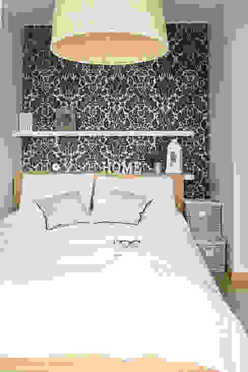 스칸디나비아 침실 by Meblościanka Studio 북유럽